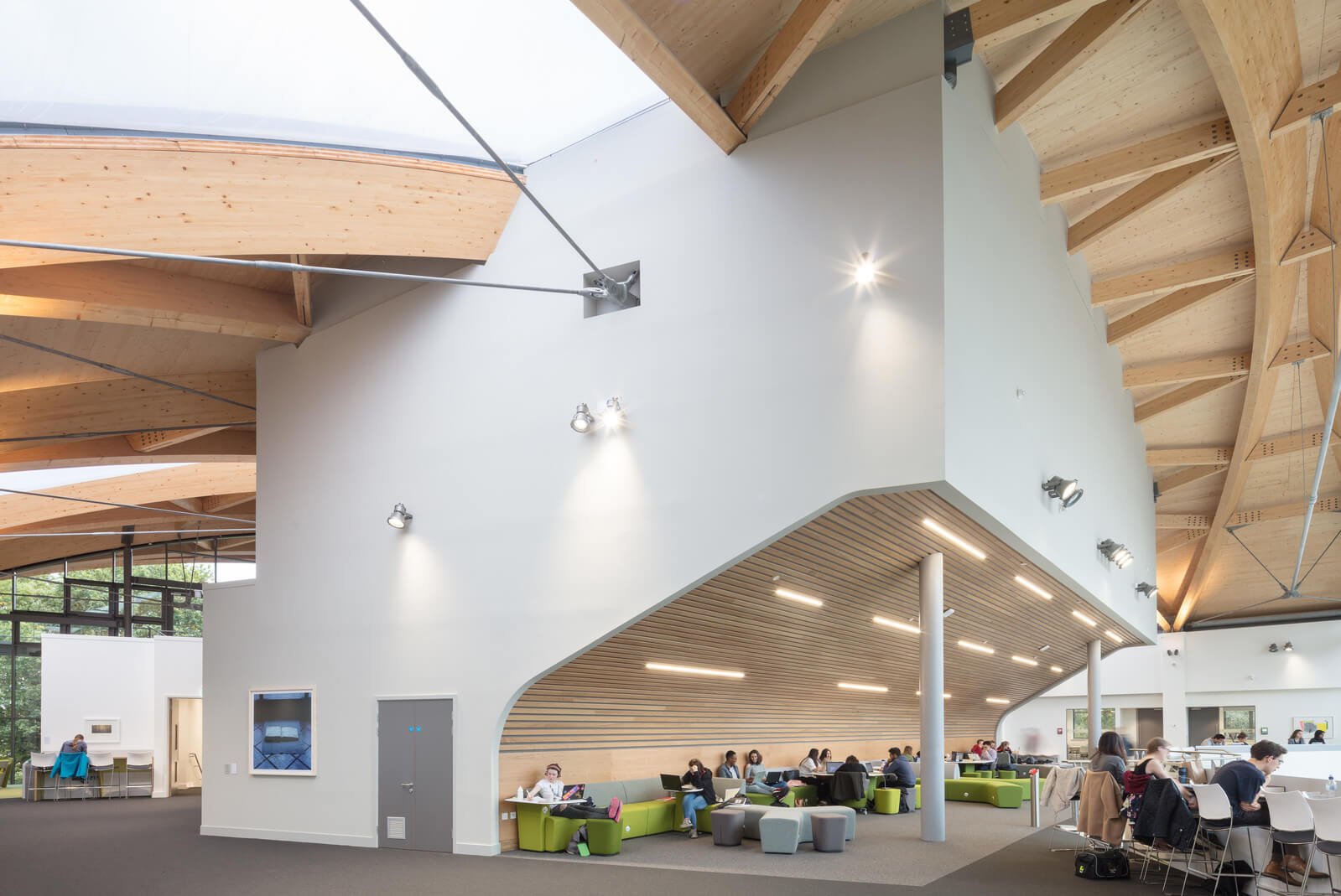 The University Of Warwick Oculus Building Internal