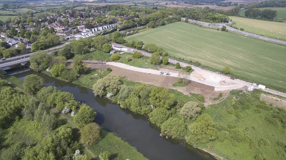 Work progressing at Wansford Picnic Area Enhancement Scheme image