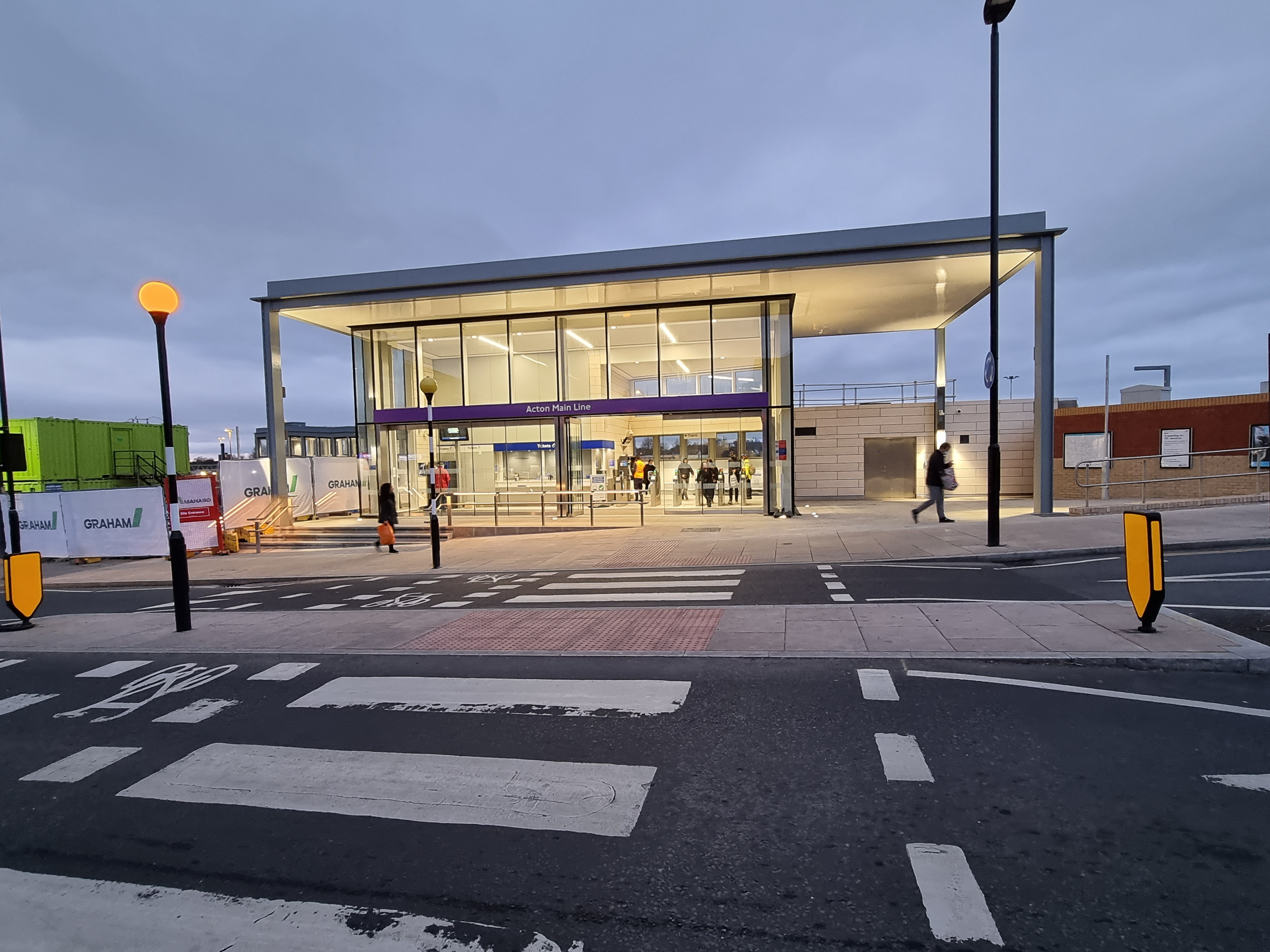 GRAHAM completes first station on Crossrail Work Package 2 image
