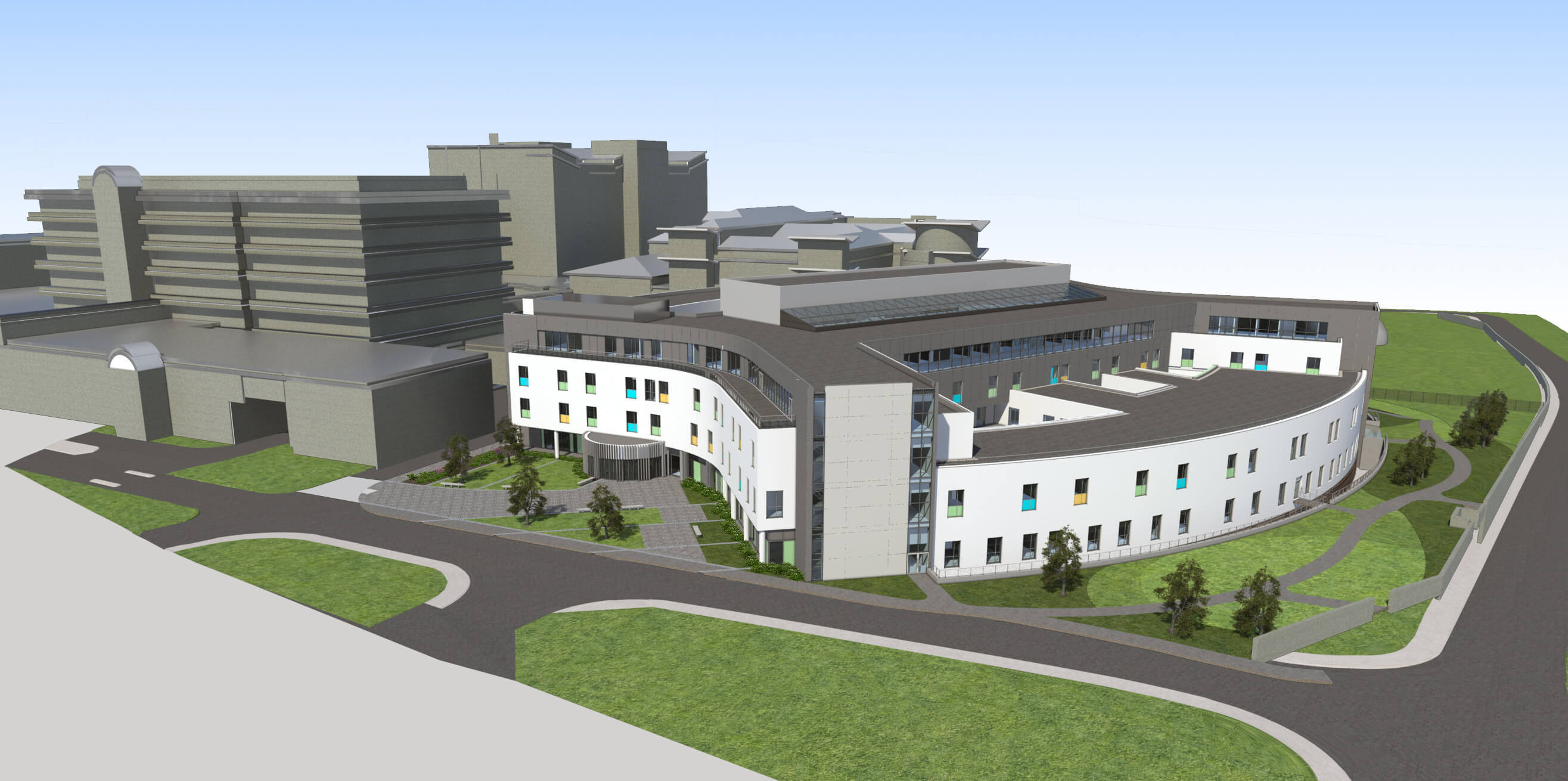 Landmark contract on Europe's largest healthcare site image