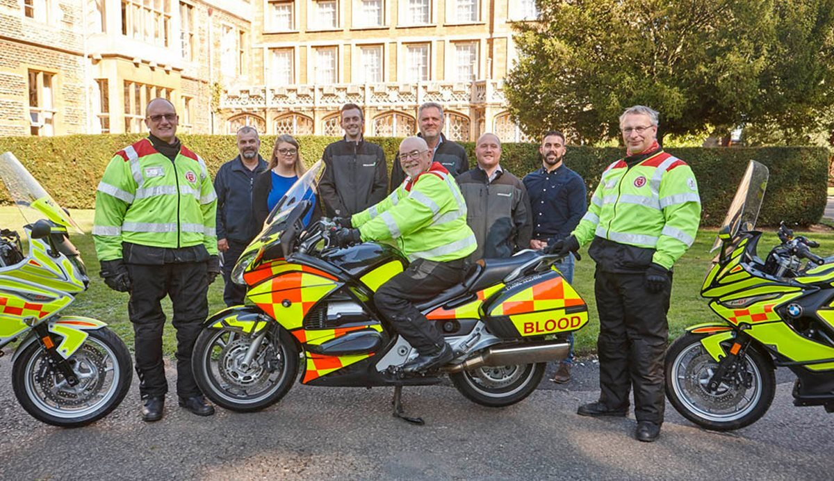 GRAHAM and Highways England launch workshops to help life-saving blood bikers image