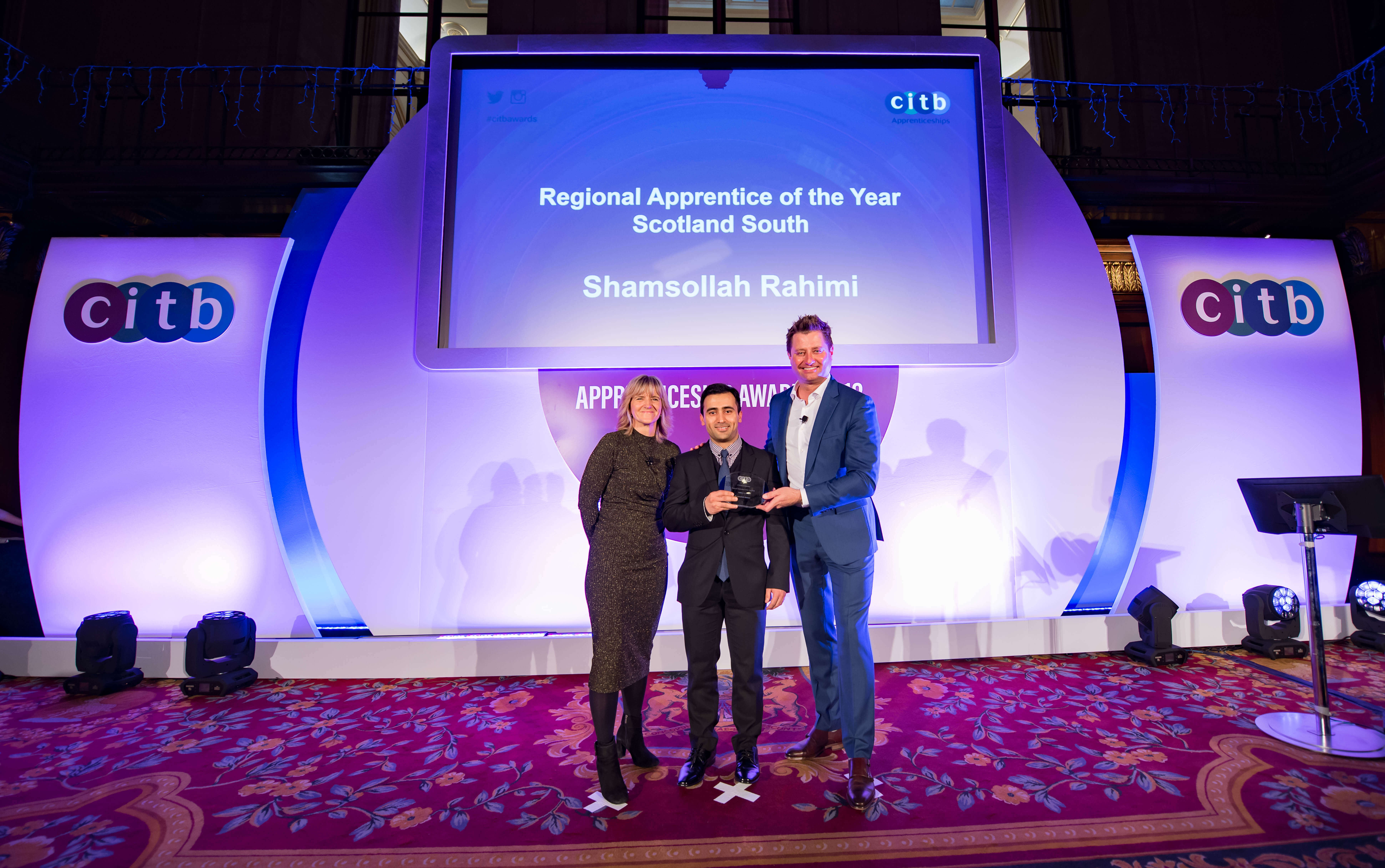 Apprentice makes it a double at CITB Awards image