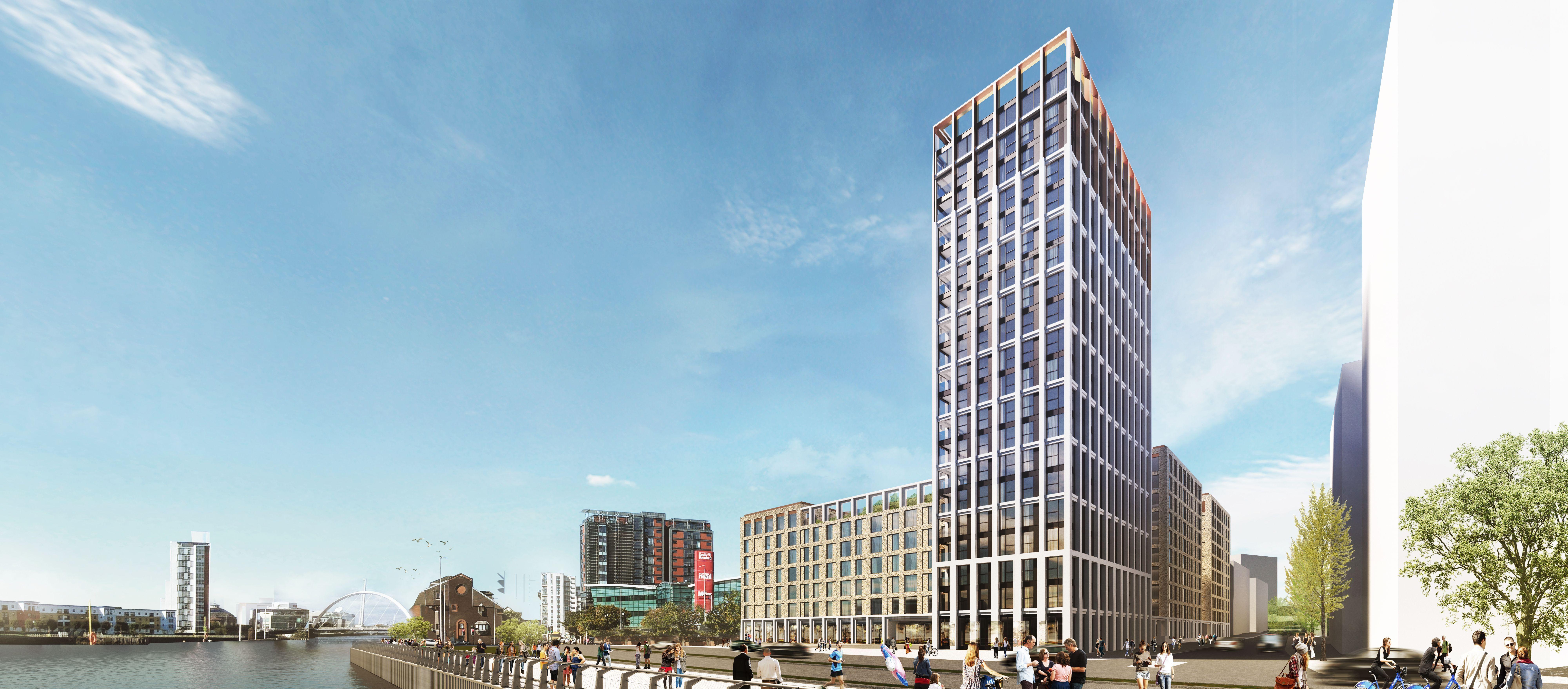 GRAHAM secures Glasgow riverside build-to-rent project image