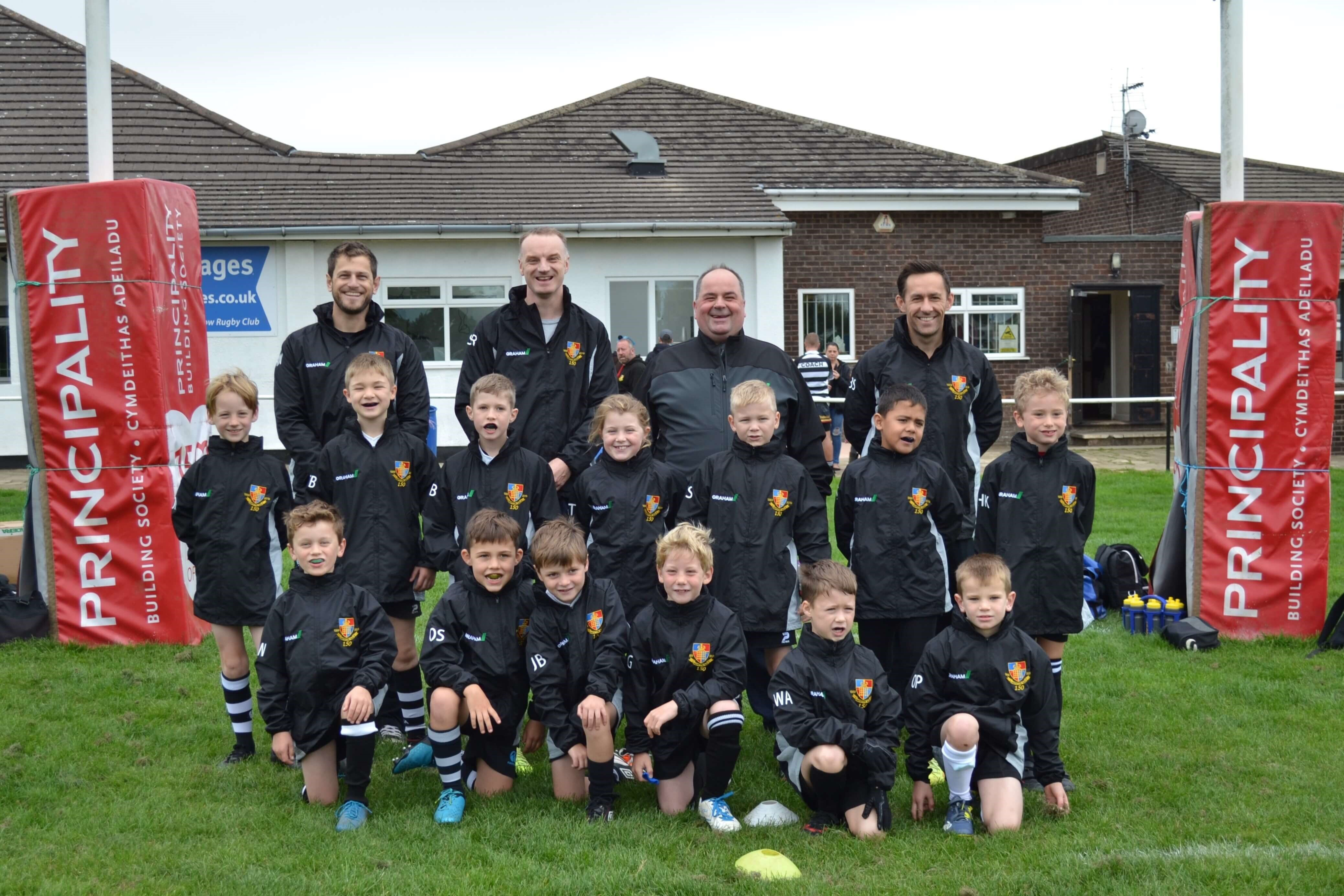 Chepstow RFC U9s kitted out in style image