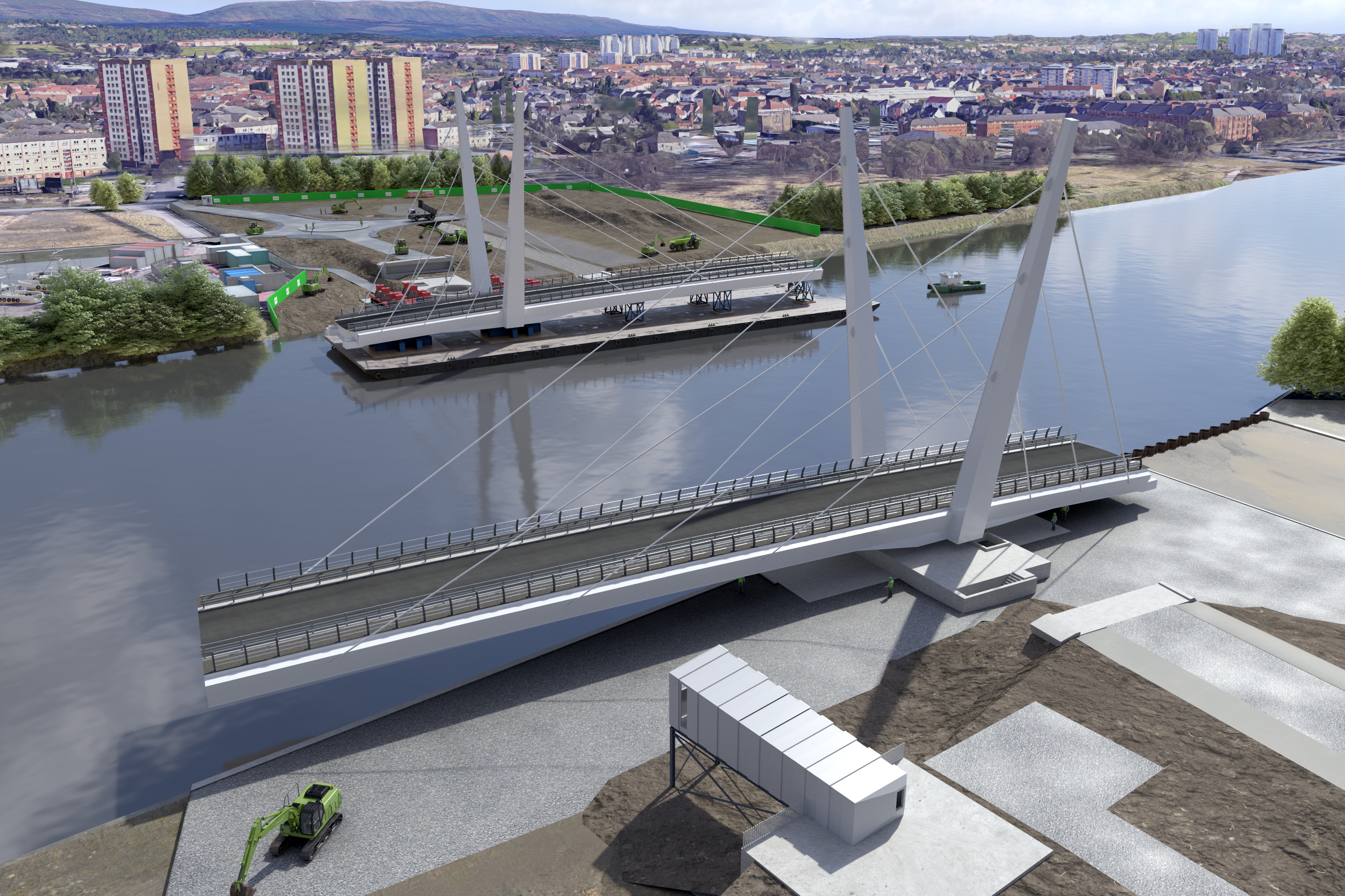 Clyde waterfront contractor unveils sub-contract opportunities image
