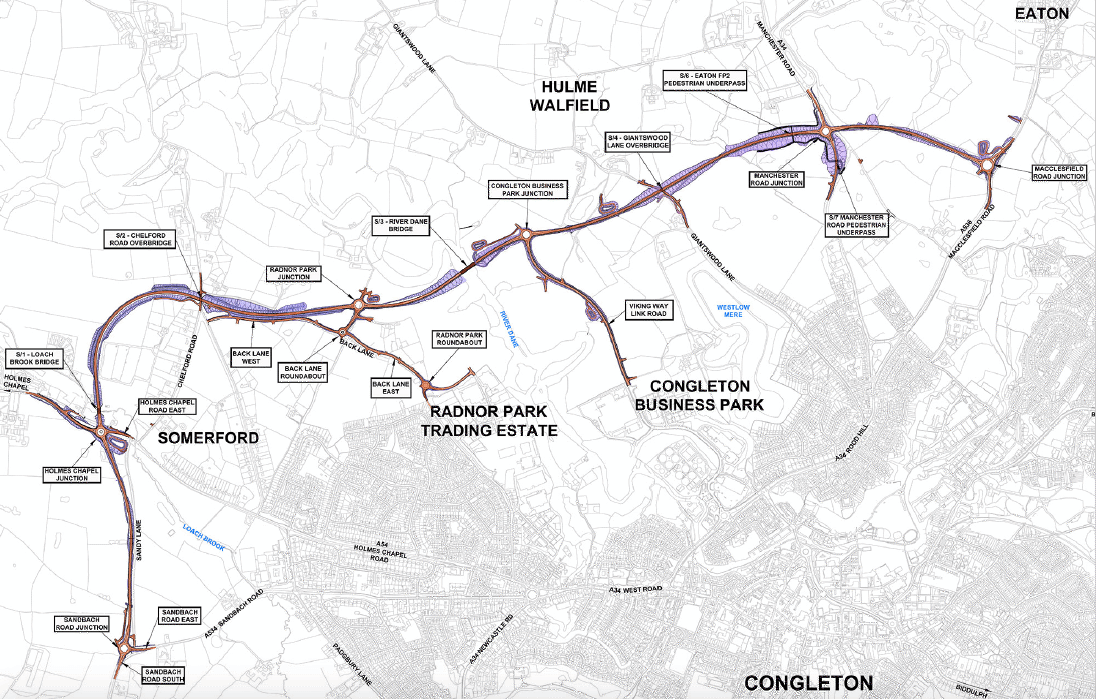 GRAHAM awarded Congleton Link Road project image