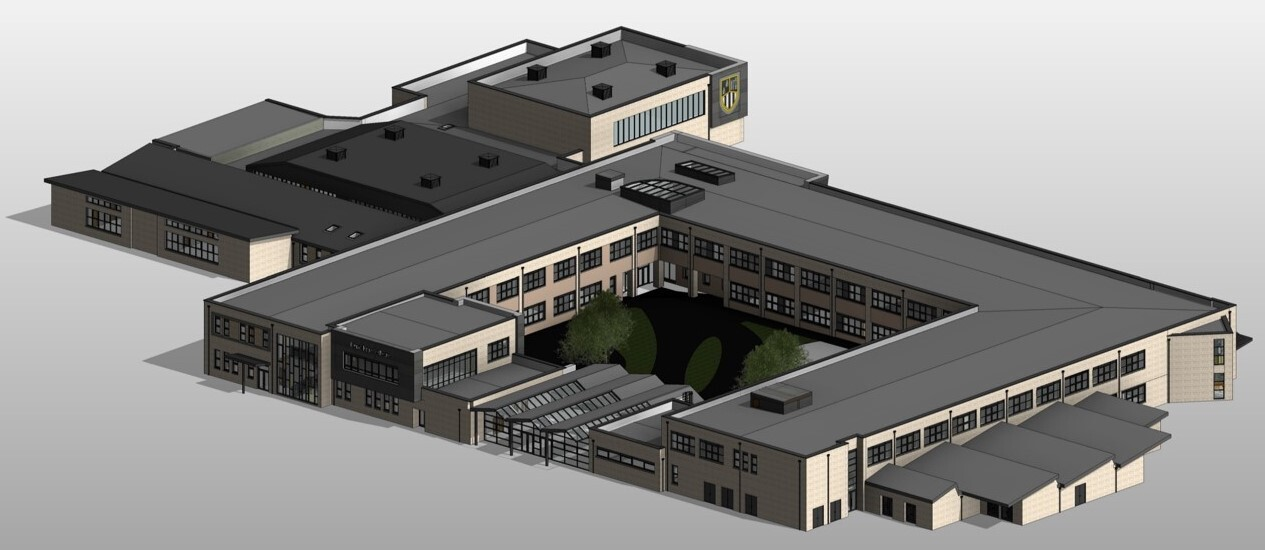 GRAHAM appointed to construct new Dunclug College campus image