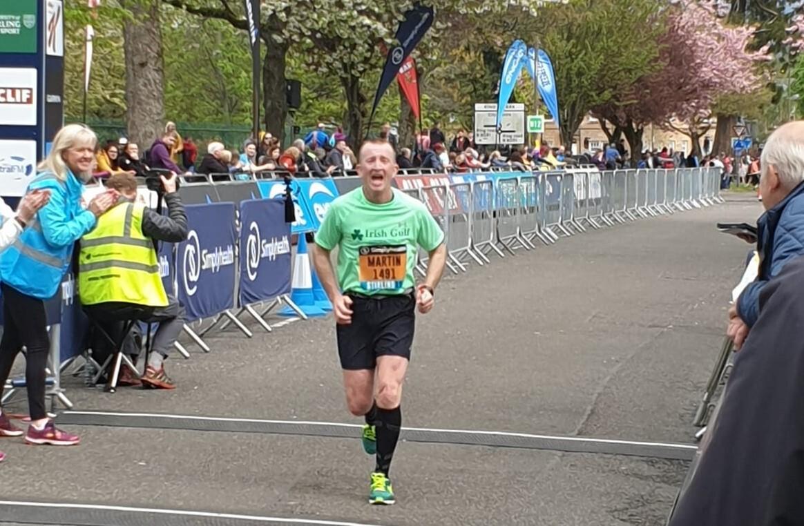 Marathon man Marty's Stirling effort image