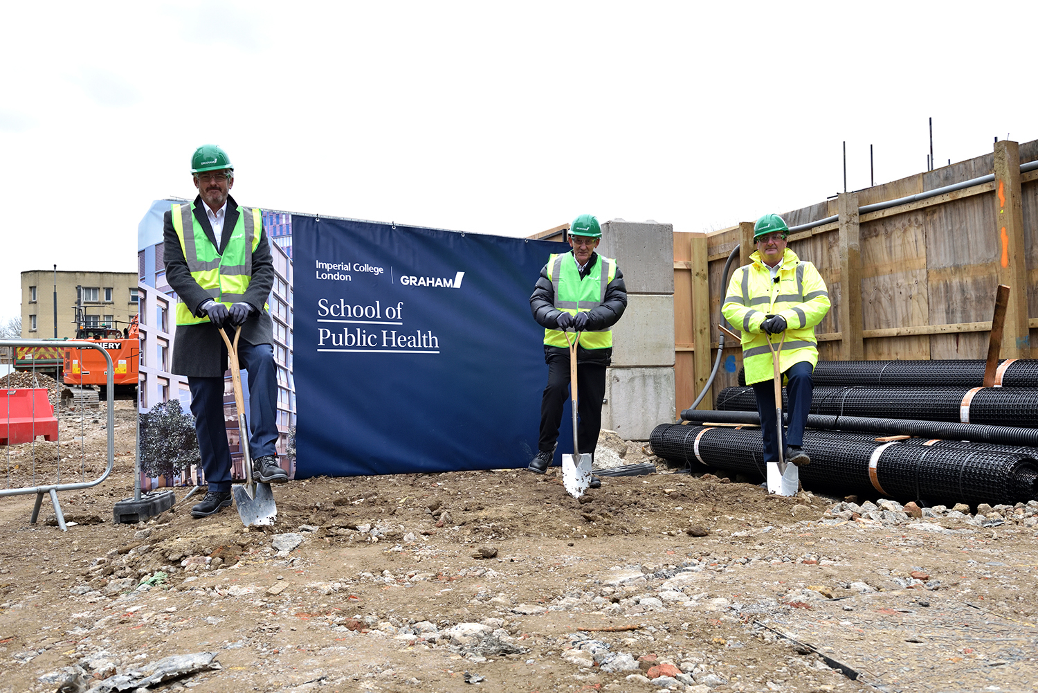 GRAHAM breaks ground at Imperial College London's White City Campus image