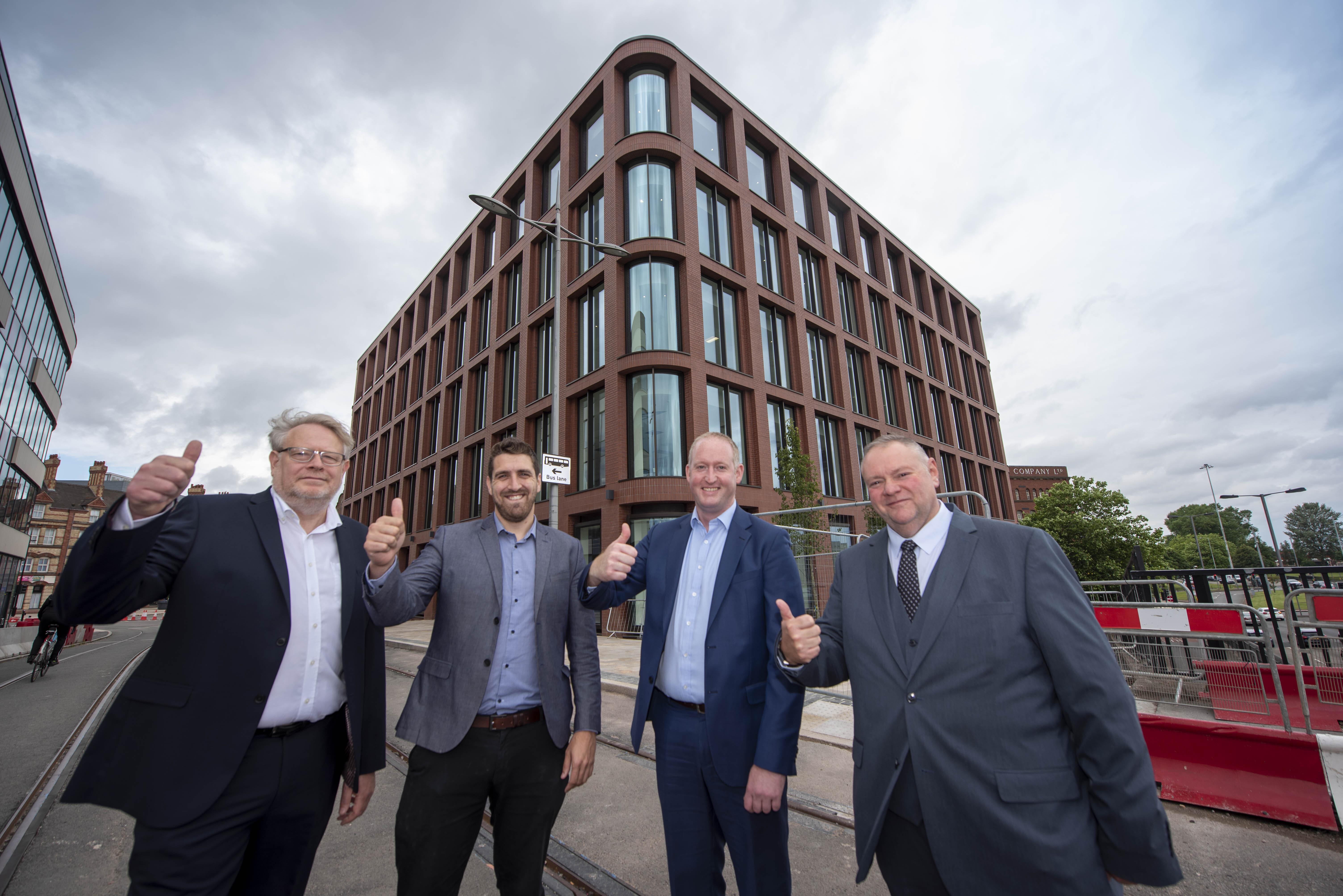 Construction complete on Wolverhampton's i9 development image