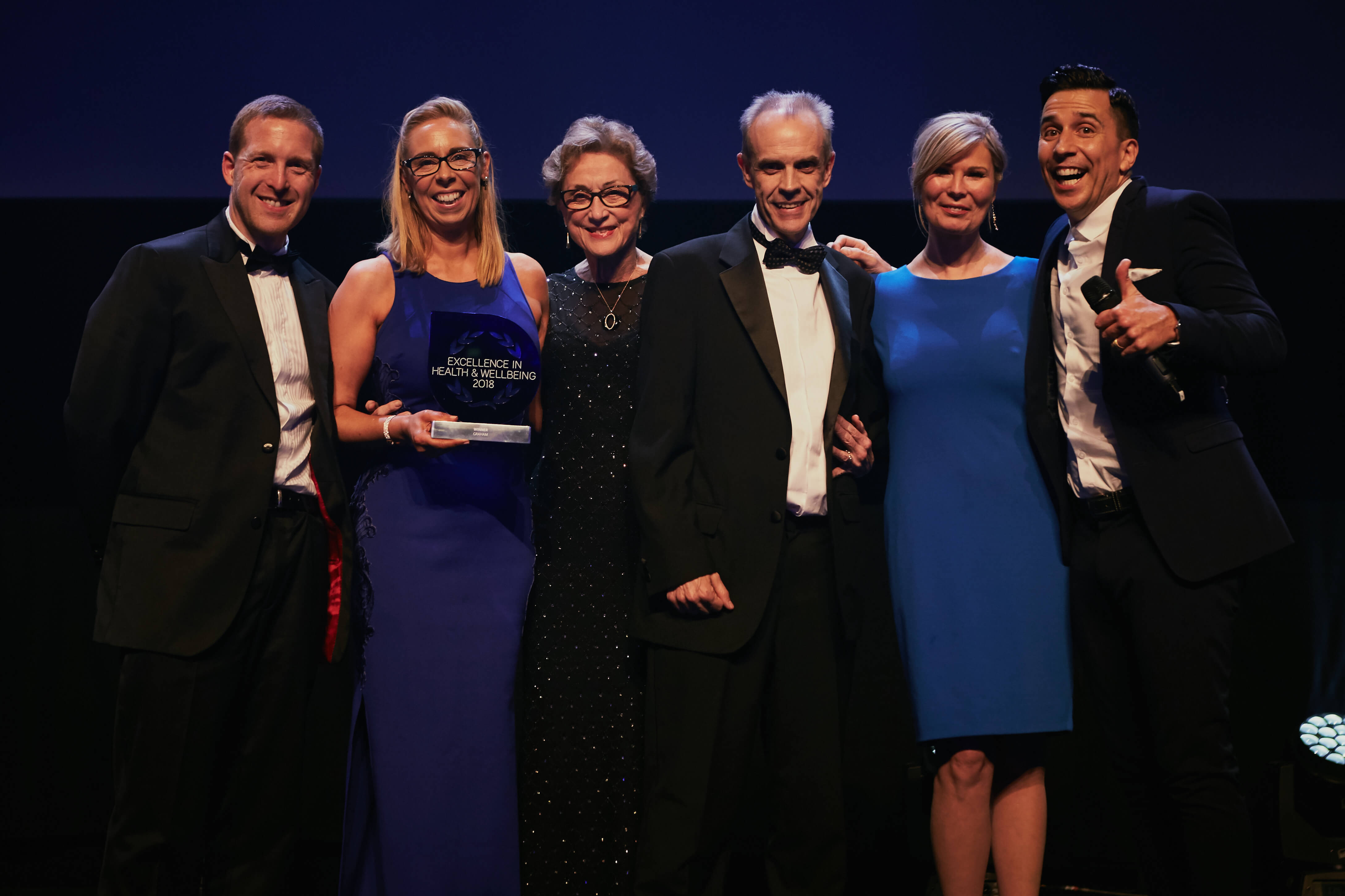 GRAHAM selected as inaugural winner of IIP Excellence in Health and Wellbeing Award image