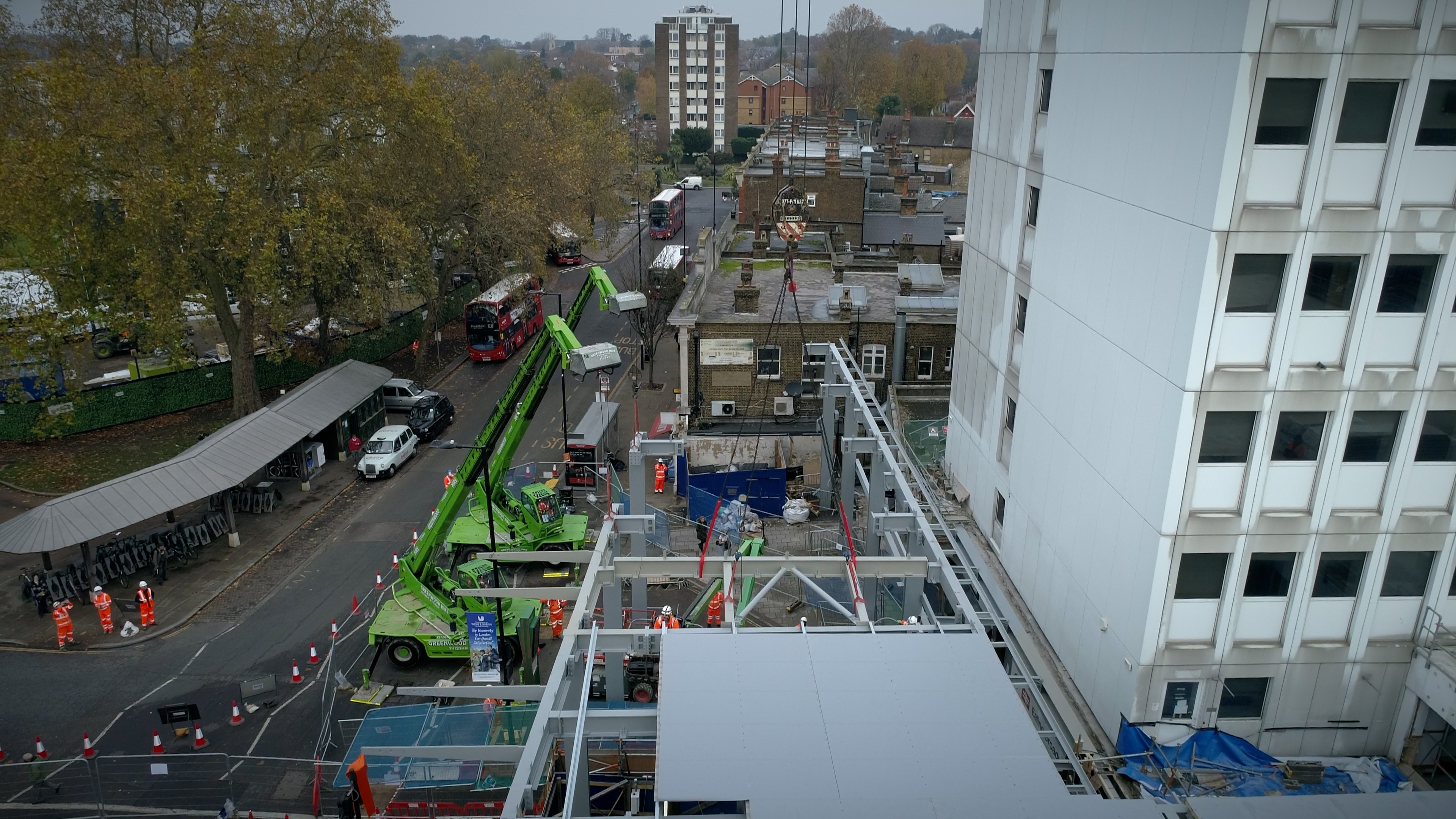 Milestone reached at Ealing Broadway Phase One image