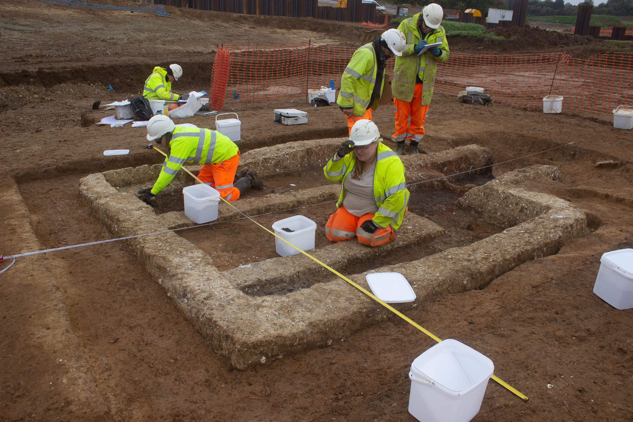 Fascinating archaeological finds along new A120 route image