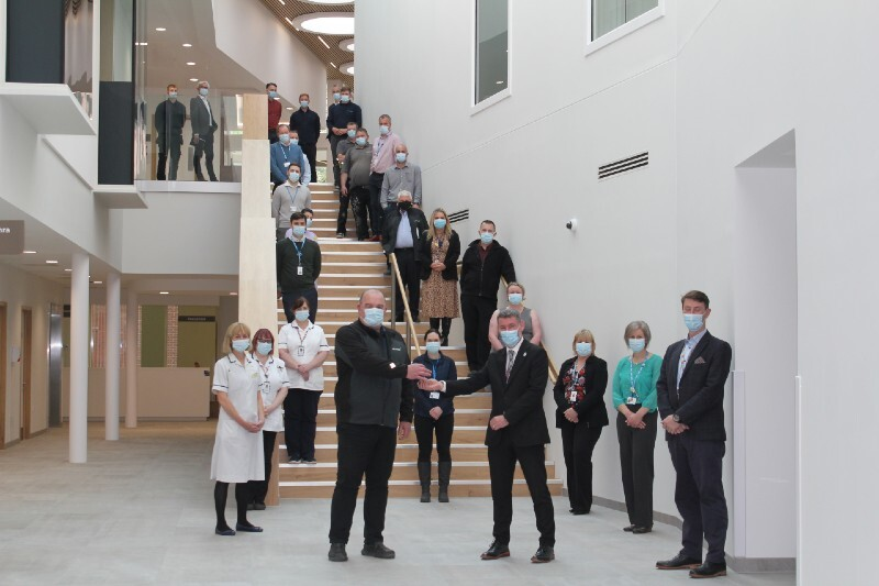 Building work complete on multi-million pound cancer centre at Cumberland Infirmary image