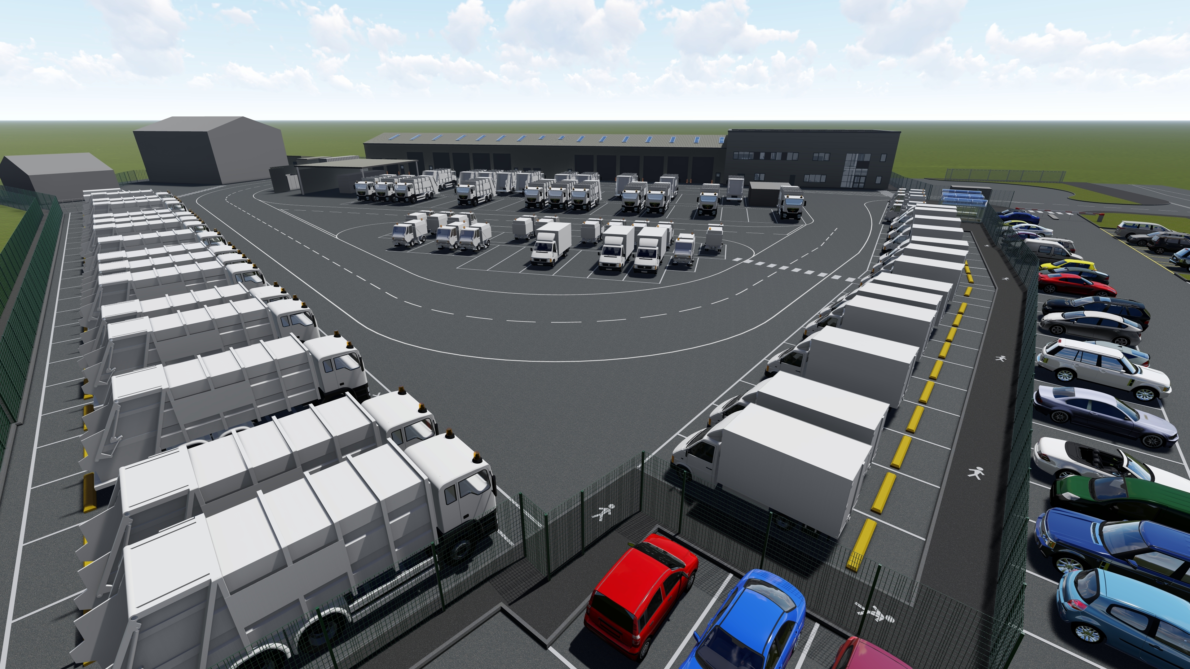 Appointed as lead contractor on Marsh Lane Depot image