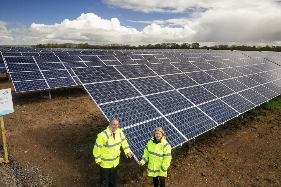 24,000 solar panels power NI Water's renewable energy ambitions image