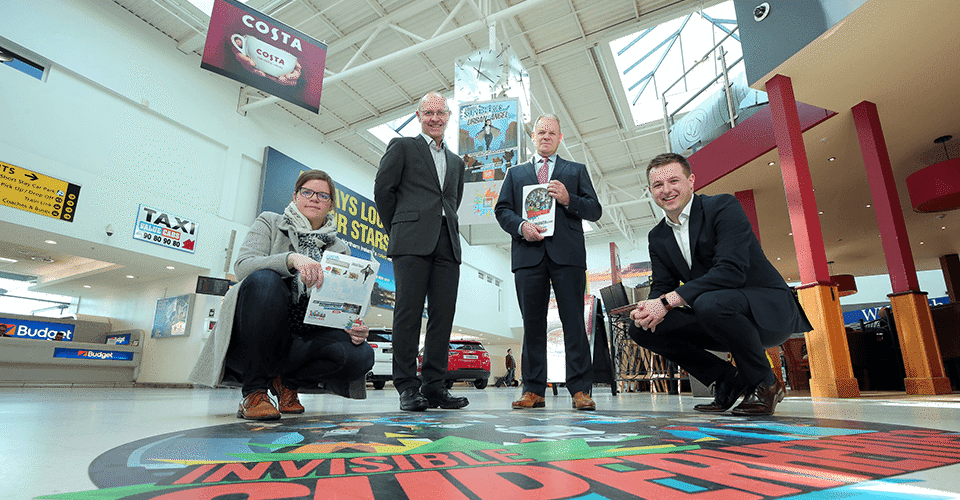 'Invisible Superheroes' land at Belfast City Airport image