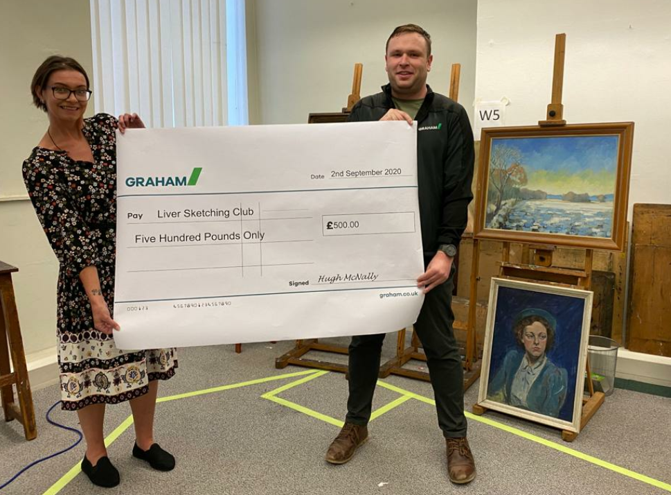 GRAHAM donation helps Liverpool arts club stay picture perfect image