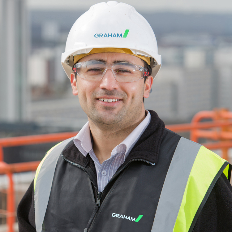 Can-do attitude pays off for Trainee Site Manager Shams Rahimi image