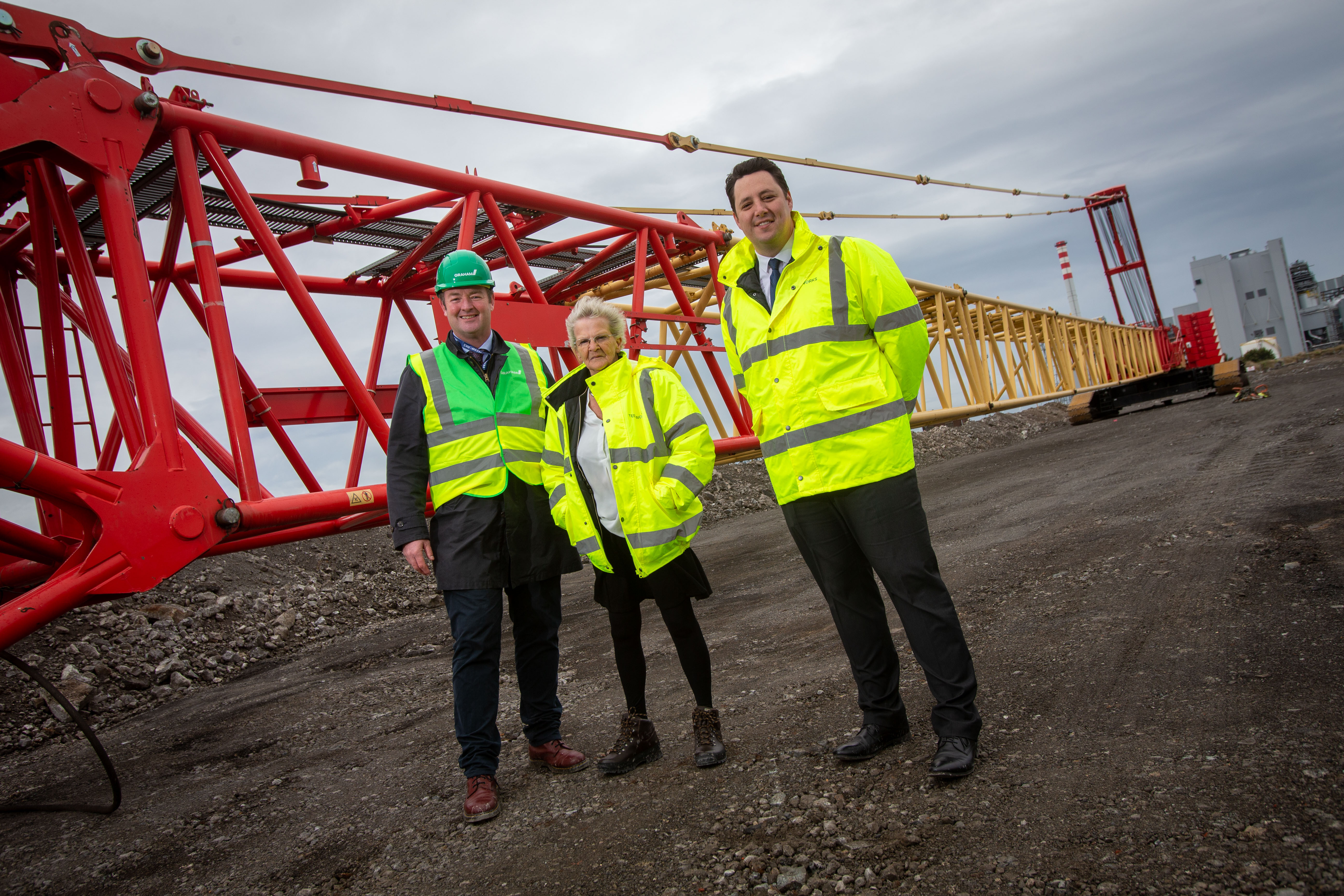 CONSTRUCTION STARTS ON QUAYSIDE FOR THE UK'S PREMIER OFFSHORE WIND HUB image
