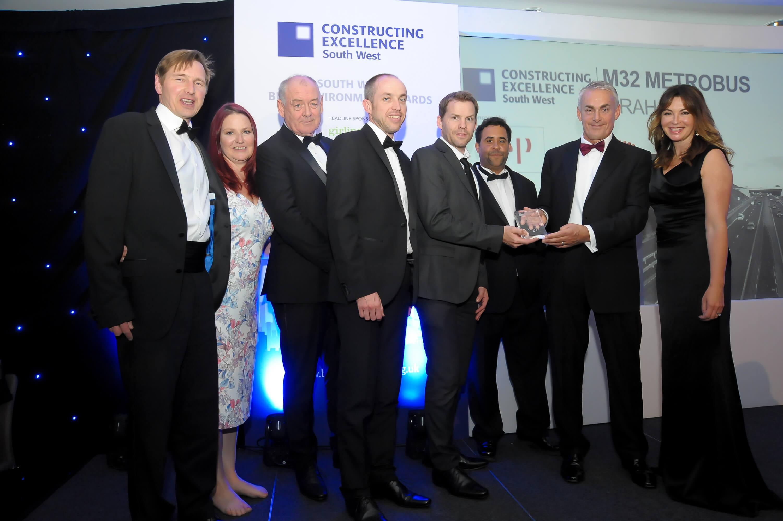 M32 MetroBus project picks up SWBE Sustainability award image