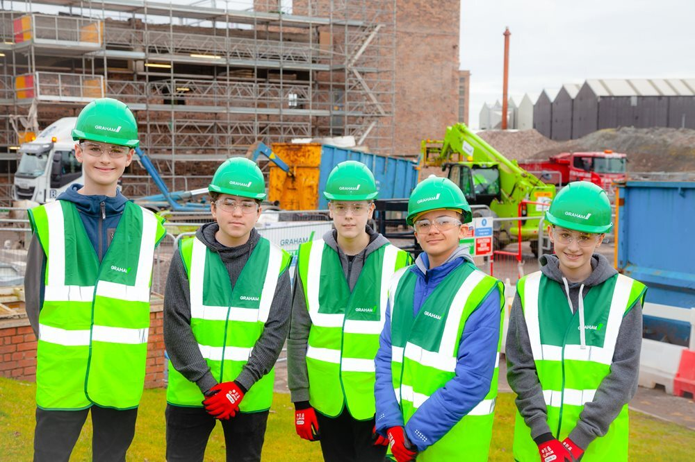 We've built rapport with Waid Academy students at our St Andrews site image