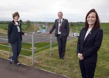 Mallon opens £189million A6 Randalstown to Castledawson Dualling Scheme