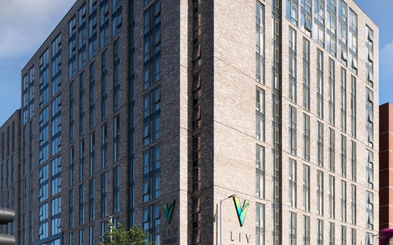 LIV Belfast Building Exterior
