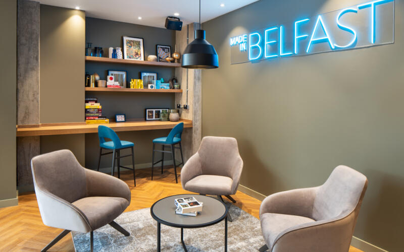 LIV Belfast Seating Area