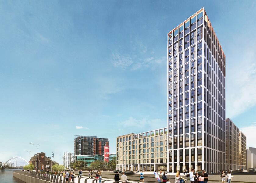 GRAHAM secures Glasgow riverside build-to-rent project