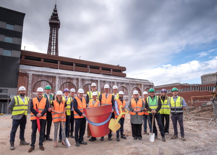 WORK STARTS ON SITE AT HOUNDSHILL PHASE TWO DEVELOPMENT