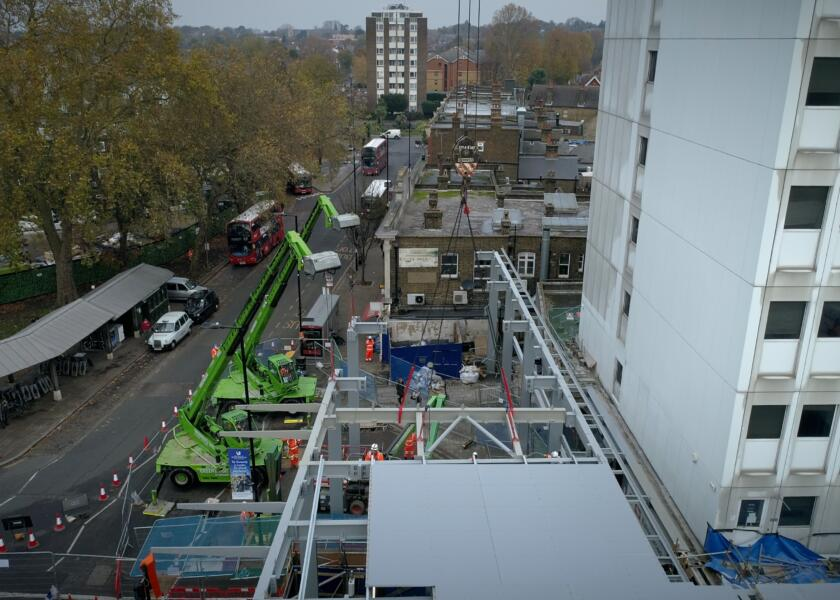 Milestone reached at Ealing Broadway Phase One