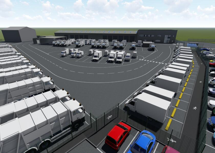 Appointed as lead contractor on Marsh Lane Depot