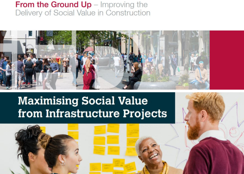 Two reports launched on Social Value provision