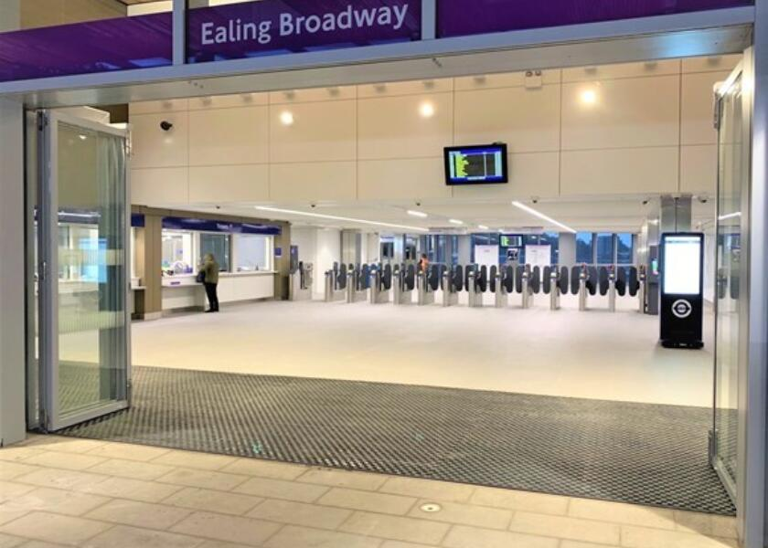 Ealing Broadway Station opens to Customers