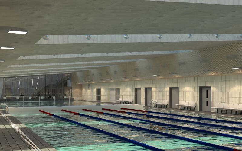 New view Pool Hall to Atrium