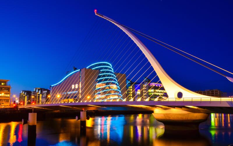 Samuel Beckett, Dublin