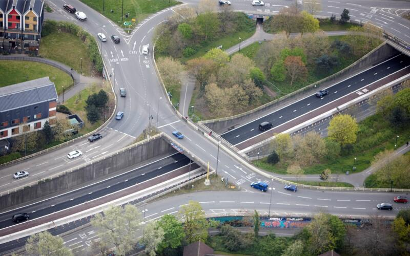 M32 Bus Junction, Bristol