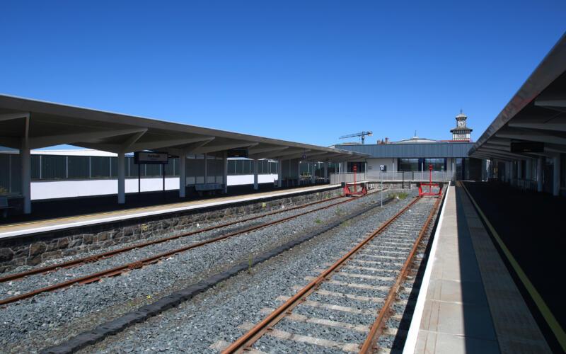 Portrush Train Station