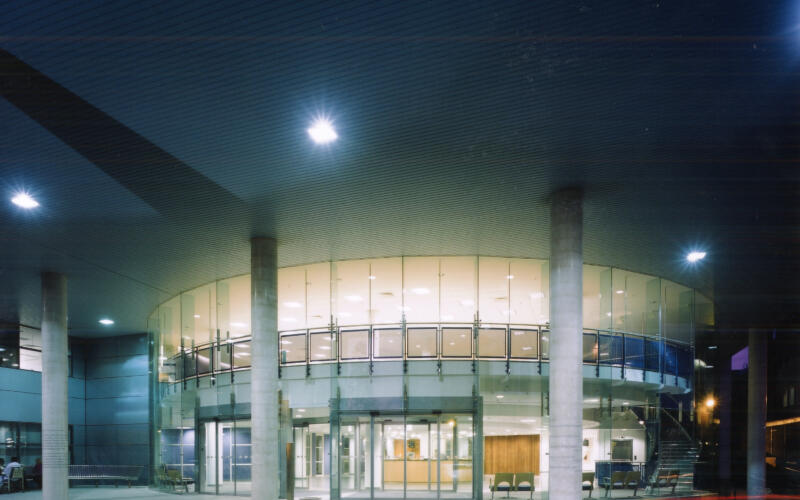 RVH Night View of Reception